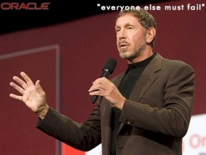 Oracle CEO, Larry Ellison.